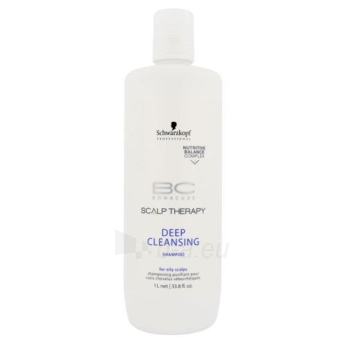 Schwarzkopf BC Bonacure Scalp Therapy Deep Cleansing Shampoo Cosmetic 1000ml Paveikslėlis 1 iš 1 250830101168