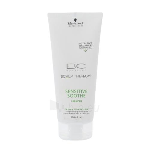 Schwarzkopf BC Bonacure Sensitive Soothe Shampoo Cosmetic 200ml Paveikslėlis 1 iš 1 250830100742