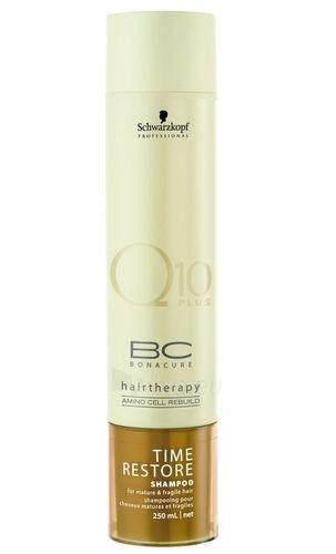 Šampūnas plaukams Schwarzkopf BC Bonacure Time Restore Shampoo Cosmetic 500ml Paveikslėlis 1 iš 1 250830100619
