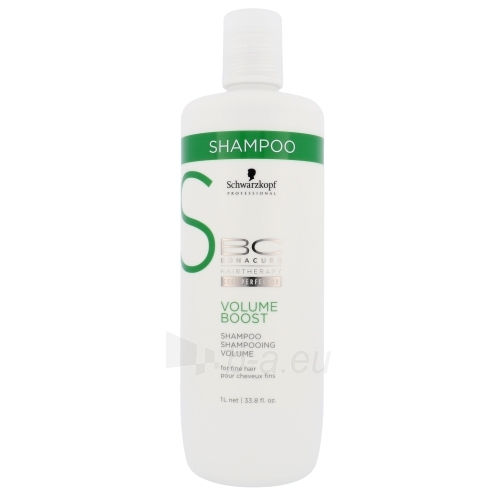 Schwarzkopf BC Cell Perfector Volume Boost Shampoo Cosmetic 1000ml Paveikslėlis 1 iš 1 250830101052