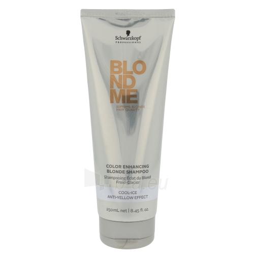 Schwarzkopf Blond Me Color Enhancing Blonde Cool-Ice Shampo Cosmetic 250ml Paveikslėlis 1 iš 1 250830101084