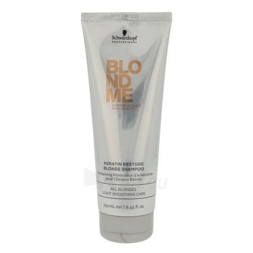 Šampūnas plaukams Schwarzkopf Blond Me Keratin Restore Blonde Shampoo Cosmetic 250ml Paveikslėlis 1 iš 1 250830101128