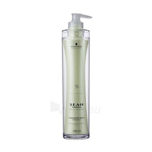 Šampūnas plaukams Schwarzkopf Seah Cashmere Bath Shampoo Cosmetic 200ml Paveikslėlis 1 iš 1 250830100627