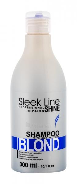 Šampūnas plaukams Stapiz Sleek Line Blond Shampoo Cosmetic 300ml Paveikslėlis 1 iš 1 250830101358