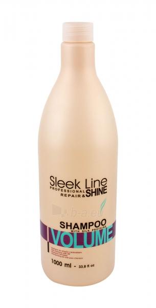 Šampūnas plaukams Stapiz Sleek Line Volume Shampoo Cosmetic 1000ml Paveikslėlis 1 iš 1 250830101306