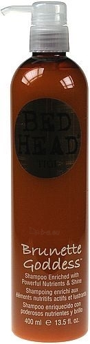 Tigi Bed Head Brunette Goddess Shampoo Cosmetic 400ml Paveikslėlis 1 iš 1 250830100276