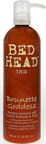 Tigi Bed Head Brunette Goddess Shampoo Cosmetic 750ml Paveikslėlis 1 iš 1 250830100277
