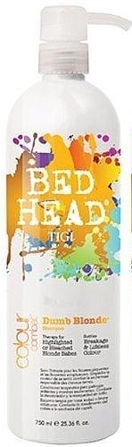 Tigi Bed Head Combat Dumb Blonde Shampoo Cosmetic 2000ml Paveikslėlis 1 iš 1 250830100284