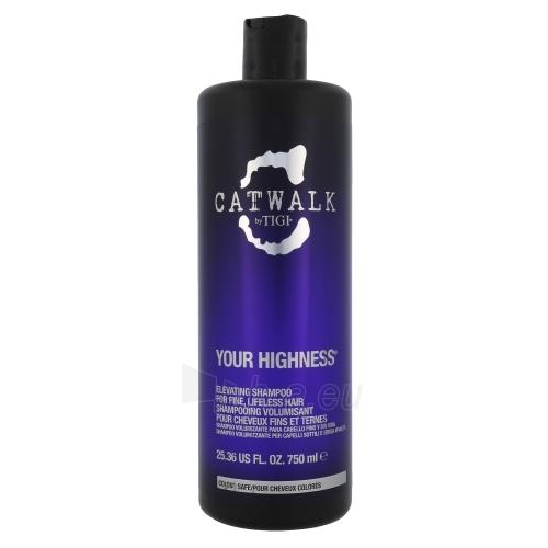 Tigi Catwalk Your Highness Elevating Shampoo Cosmetic 750ml Paveikslėlis 1 iš 1 250830100342