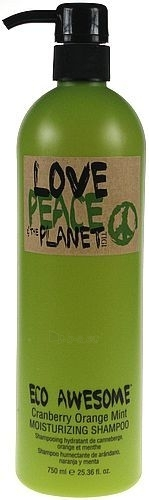 Tigi Love Peace & The Planet Moisturizing Shampoo Cosmetic 750ml Paveikslėlis 1 iš 1 250830100345