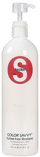 Šampūnas plaukams Tigi S Factor Color Savvy Shampoo Cosmetic 2000ml Paveikslėlis 1 iš 1 250830100356