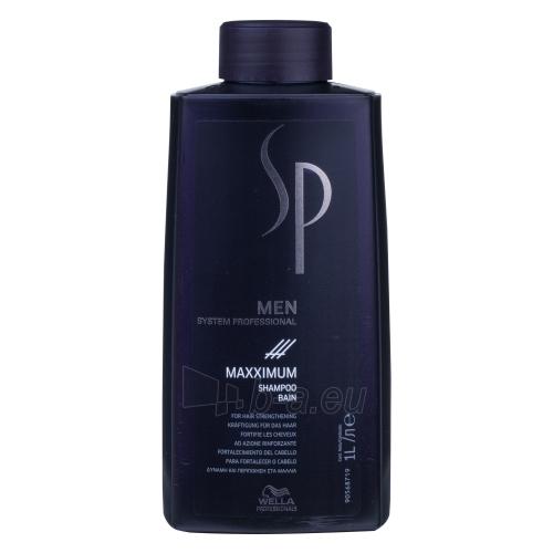 Šampūnas plaukams Wella SP Men Maxximum Shampoo Cosmetic 1000ml Paveikslėlis 1 iš 1 250830101342