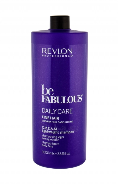 Šampūnas Revlon Professional Be Fabulous Daily Care Fine Hair Shampoo 1000ml Paveikslėlis 1 iš 1 310820178969
