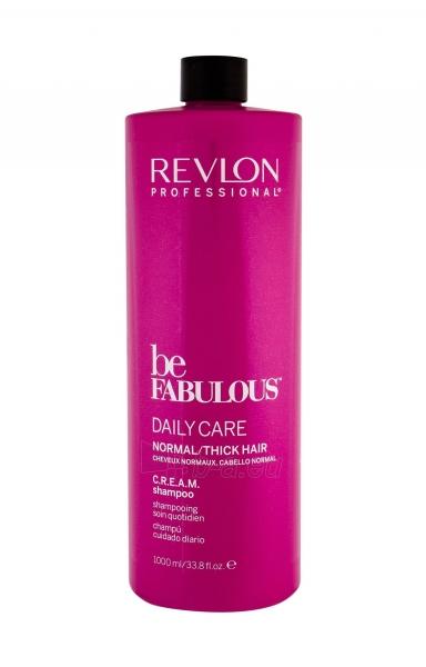 Šampūnas Revlon Professional Be Fabulous Daily Care Normal/Thick Hair Shampoo 1000ml Paveikslėlis 1 iš 1 310820178971