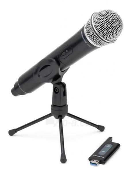 SAMSON Stage X1U USB Skaitmeninė bevielė sistema su rankiniu mikrofonu (2.4GHz) Paveikslėlis 1 iš 3 310820002298