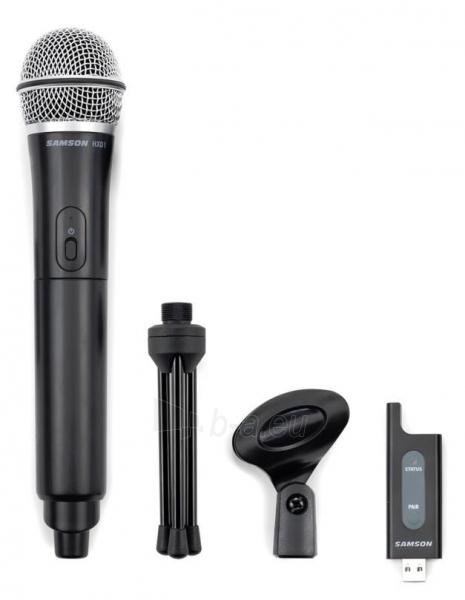 SAMSON Stage X1U USB Skaitmeninė bevielė sistema su rankiniu mikrofonu (2.4GHz) Paveikslėlis 3 iš 3 310820002298