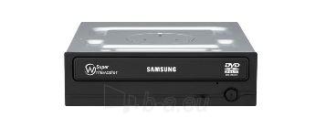 SAMSUNG 24x8x16xDVD+RW SATA bulk Black Paveikslėlis 1 iš 1 310820009300
