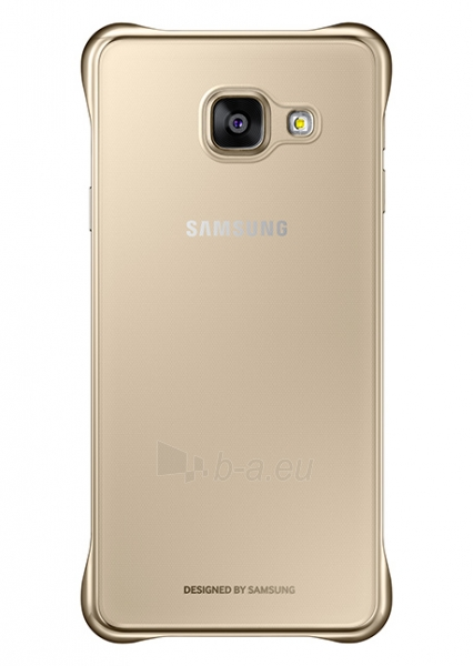Samsung Clear cover for Galaxy A5 (2016) A510 (Gold) Paveikslėlis 1 iš 2 250232003050