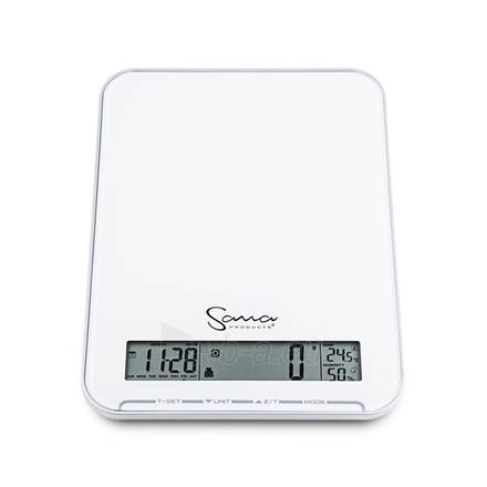 how to read a large kitchen scale