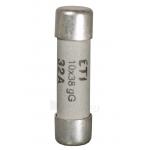 Saugiklis buitinis cilindrinis, 20A, CH 10x38, gG, 500V, CH10, ETI 02620011 Paveikslėlis 1 iš 1 223841000115