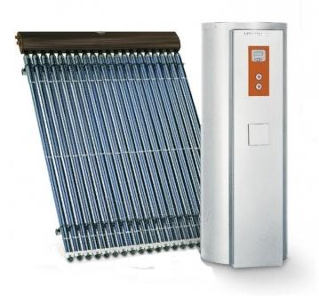 Saulės kolektoriaus VIESSMANN Paketas Vitosol 200-T 3m2 su vandens šildytuvu Vitocell 100-U 300L Paveikslėlis 1 iš 1 271802000043