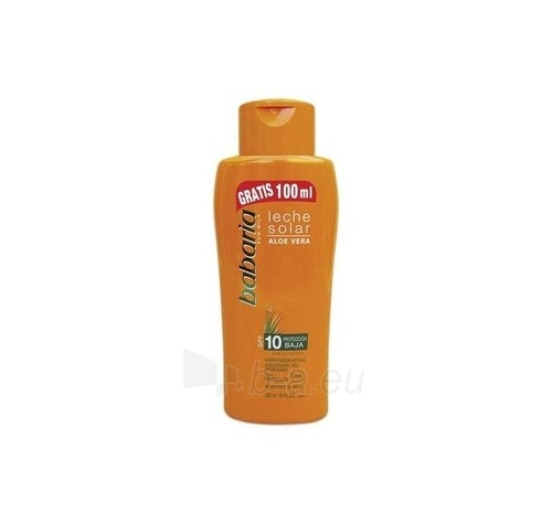 Saulės kremas Babaria Sun Milk Aloe Vera SPF10 Cosmetic 300ml Paveikslėlis 1 iš 1 250860000311