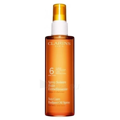 Saulės kremas Clarins Sun Care Oil Spray SPF6 Cosmetic 150ml (be dėžutės) Paveikslėlis 1 iš 1 250860000331