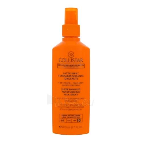 Sun Super Sauļošanās krēms Collistar Moisturizing Milk Spray SPF 10 Cosmetic 200ml Paveikslėlis 1 iš 1 250860000540