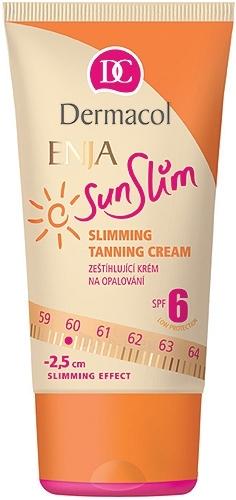 Sun cream Dermacol Enja Sunslim Tanning Cream SPF 6 Cosmetic 150ml Paveikslėlis 1 iš 1 250860000227