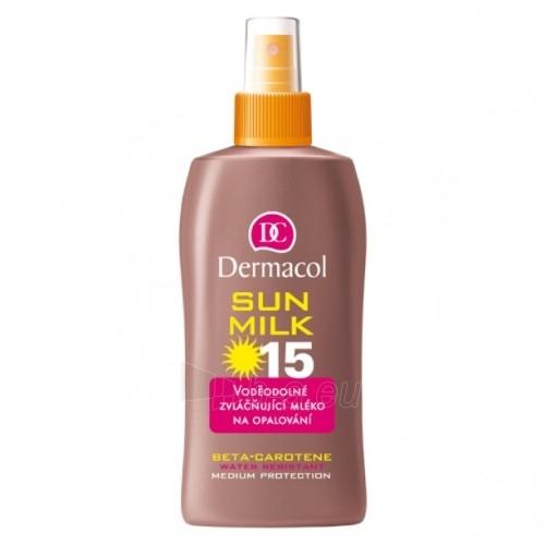 Sun krēms Dermacol Sun Milk SPF 15 Spray Cosmetic 200ml  Paveikslėlis 1 iš 1 250860000238