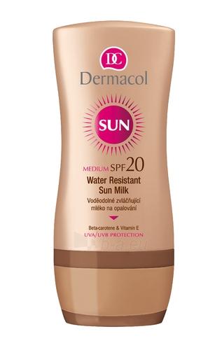 Sun cream Dermacol Sun Milk SPF20  Cosmetic 200ml Paveikslėlis 1 iš 1 250860000352