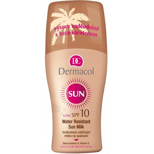Saulės kremas Dermacol Sun Milk Spray SPF10 Cosmetic 200ml Paveikslėlis 1 iš 1 250860000353