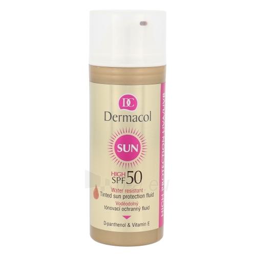 Saulės kremas Dermacol Sun WR Tinted Sun Protection Fluid SPF50 Cosmetic 50ml Paveikslėlis 1 iš 1 250860000462