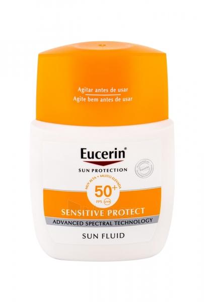 Saulės kremas Eucerin Sun Sensitive Protect Sun Fluid Mattifying Face Sun Care 50ml SPF50+ Paveikslėlis 1 iš 1 310820174663