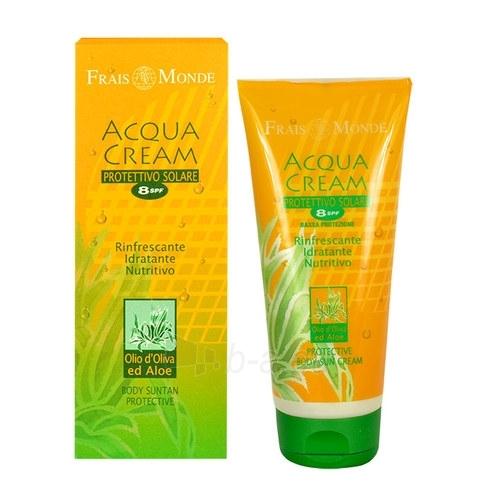 Sun Cream Frais Monde Acqua Body Sauļošanās krēms SPF 8 Protective Cosmetic 200ml Paveikslėlis 1 iš 1 250860000653
