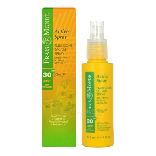 Sun Cream Frais Monde Active Spray Sun Lotion SPF30 Cosmetic  125ml Paveikslėlis 1 iš 1 250860000590
