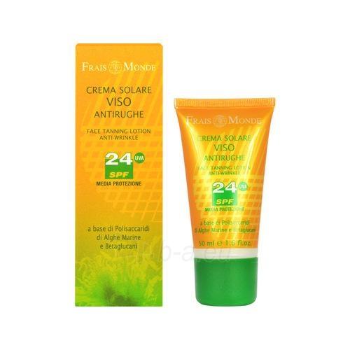 Sun Cream Frais Monde Sejas Sauļošanās losjons Pretgrumbu SPF 24 Cosmetic 50ml Paveikslėlis 1 iš 1 250860000601