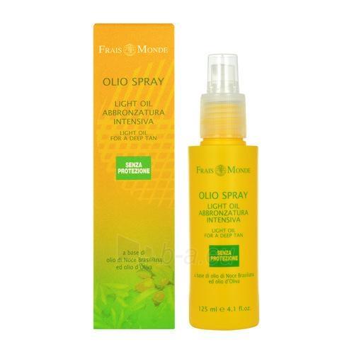 Sun Cream Frais Monde Light Oil Spray Tan par dziļu Cosmetic 125ml Paveikslėlis 1 iš 1 250860000602