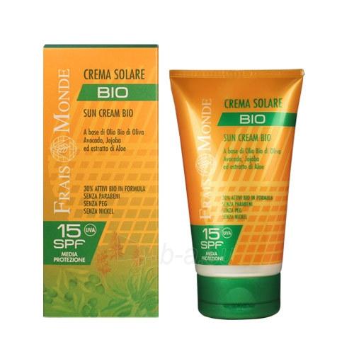 Saulės kremas Frais Monde Sun Cream Bio SPF15 Cosmetic 150ml Paveikslėlis 1 iš 1 310820010879