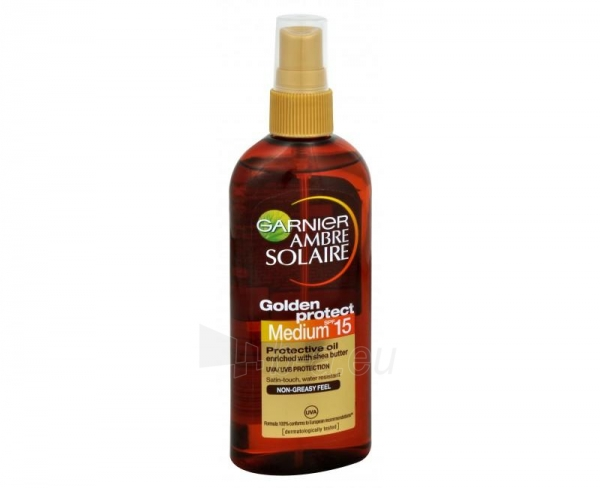 Sun Cream SPF 15 Garnier High Ambre Solaire Golden Protect 150ml Paveikslėlis 1 iš 1 250860000547