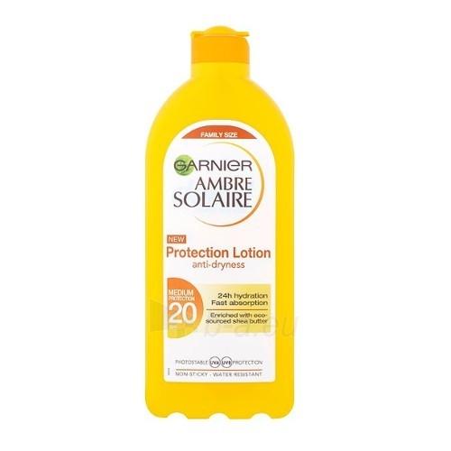 Saulės kremas Garnier Waterproof sun lotion OF 20 Ambre Solaire (Protection Lotion) 400 ml Paveikslėlis 1 iš 1 310820162493