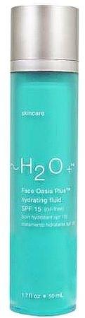Saulės kremas H2Oplus Face Oasis Plus Hydrating Fluid SPF15 Cosmetic 50ml Paveikslėlis 1 iš 1 250860000092
