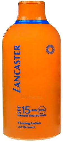 Sun Cream Lancome Sauļošanās losjons SPF 15 UVB / UVA Cosmetic 400ml  Paveikslėlis 1 iš 1 250860000138