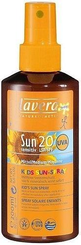 Sun Cream Lavera Baby Sun Milk Spray SPF20  Cosmetic 200ml Paveikslėlis 1 iš 1 250860000249
