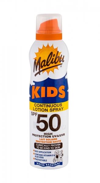 Saulės kremas Malibu Kids Continuous Lotion Spray Sun Body Lotion 175ml SPF50 Paveikslėlis 1 iš 1 310820177942