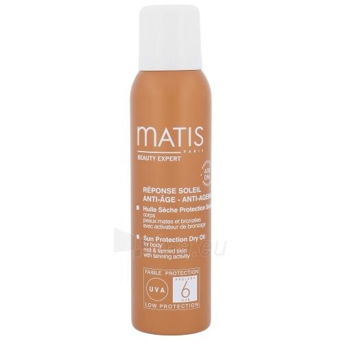 Saulės kremas Matis Réponse Soleil Sun Protection Dry Oil SPF6 Cosmetic 125ml Paveikslėlis 1 iš 1 310820045036