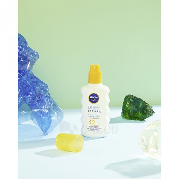 Saulės kremas Nivea Spray lotion for sensitive skin SPF 30 ( Sensitiv e Protect Sun Spray) 200 ml Paveikslėlis 1 iš 2 310820173994