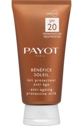 Saulės kremas Payot Benefice Soleil Anti Ageing Protective Milk Cosmetic 150ml Paveikslėlis 1 iš 1 250860000141
