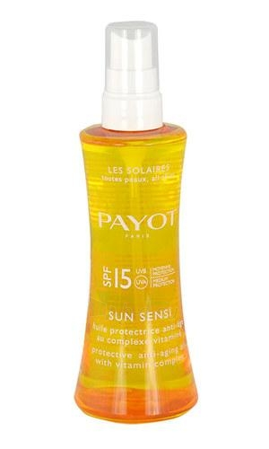 Sun krēms Payot Les Sensi Saules Sun Oil Spray SPF15  kosmētikas 125ml Paveikslėlis 1 iš 1 250860000577