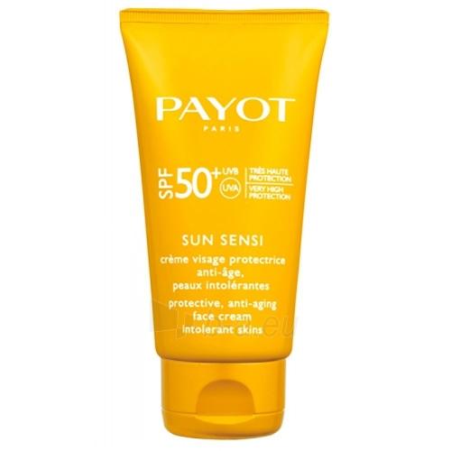 Saulės kremas Payot Protective anti-aging cream for sensitive skin SPF 50+ Sun Sensi (Protective Anti-Aging Face Cream) 50 ml Paveikslėlis 1 iš 1 310820088705